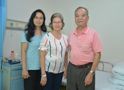 ung thư gan, điều trị ung thư gan, điều trị xâm lấn tối thiểu, Bệnh nhân Ung thư St.Stamford, điều trị vi sóng, điều trị can thiệp