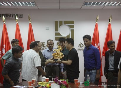 Boai group, Bangladeshi press delegation