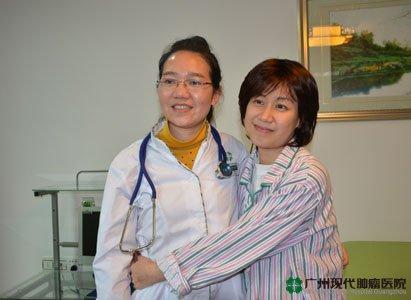 نجاح العلاج التدخلي + المناعي في إنقاذ مريضة سرطان المبي