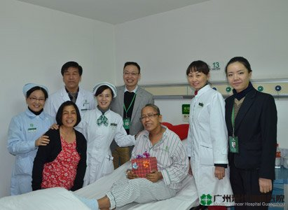 Modern Cancer Hospital Guangzhou, Christmas gifts