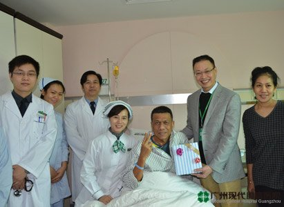 Modern Cancer Hospital Guangzhou, Christmas gifts