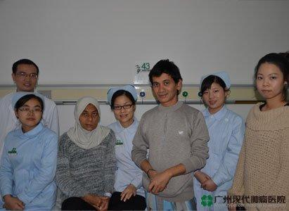 Câu chuyện bệnh nhân ung thư não,Bệnh viện Hiện đại
