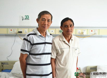 TRAN QUY LUONG pasien yang berasal dari Ho Chi Minh, Vietnam:Di sini dapat memberi rasa aman dan menumbuhkan kepercayaan