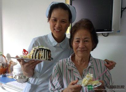 الزوجان لين من جن و لينغ مينغ دا من جاكرتا : هذا مستشفى ال