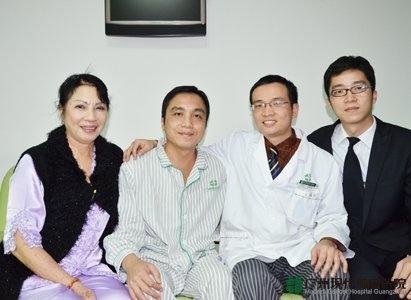 سرطان المريء, ومستشفى الأورام الحديث قونغ جون