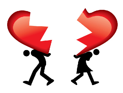 Divorcees 'have more heart attacks'
