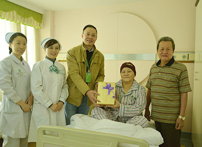 Christmas, Gifts, Modern Cancer Hospital Guangzhou