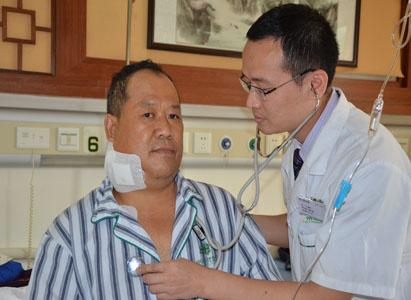 广州现代肿瘤医院, 鼻咽癌, 冷冻治疗