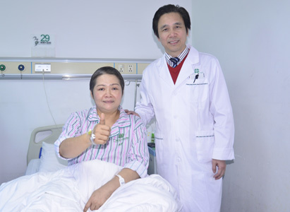 ovarian cancer, ovarian cancer treatment, interventional therapy, microwave ablation, Modern Cancer Hospital Guangzhou