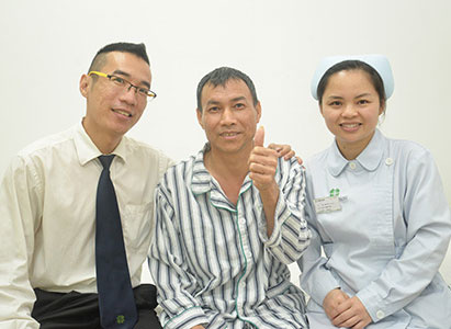 سرطان المريء، علاج سرطان المريء، العلاج التداخلي، علاج سرطان المريء بعملية المينيملي، مستشفى جوانزو الحديث للسرطان