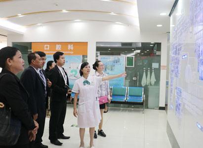 Cambodian media groups, doctor representatives, Modern Cancer Hospital Guangzhou