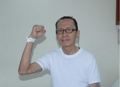 Cảm ơn Bệnh viện Ung Thư St. Stamford Quảng Châu cứu mạng sống của tôi