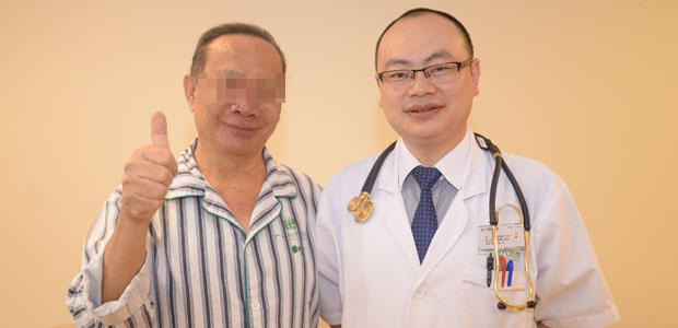 Lung cancer, Lung cancer treatment, Interventional therapy, Cryotherapy, St.Stamford Modern Cancer Hospital Guangzhou.