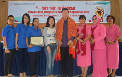 Modern Cancer Hospital Guangzhou, Polres Simalungun, Bhayangkari Cabang Simalungun, seminar kanker, pencegahan kanker, deteksi kanker