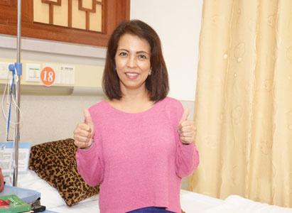 罗西亚:选择微创技术, 相信圣丹福广州现代肿瘤医院