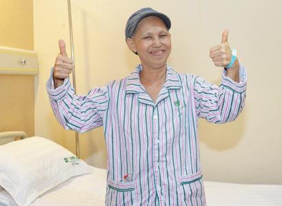 kanker payudara, pengobatan kanker payudara, pengobatan minimal invasif, terapi Intervensi, kemoterapi, St. Stamford Modern Cancer Hospital Guangzhou