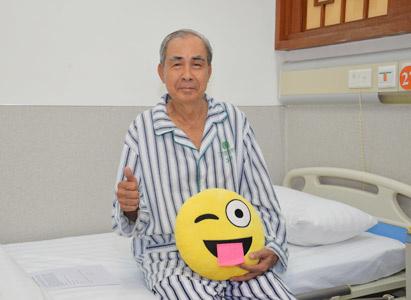 Liệu pháp điều trị xâm lấn tối thiểu tổng hợp, đã giúp bệnh nhân ung thư hạch thoát được những đau đớn do tác dụng phụ của hóa chất gây ra