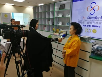 St. Stamford Modern Cancer Hospital Guangzhou di Jakarta,Rumah sakit kanker standar pelayanan Medis bertaraf Internasional akreditasi JCI, Metode Pengobatan  Minimal Invasif ,Tim MDT