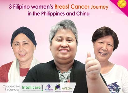 3 Filipino women's Breast Cancer Journey in the Philippines and China*