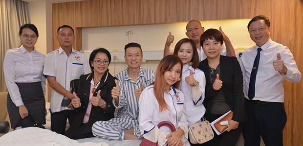 Cancer, cancer treatment, minimally invasive therapy, Charity Group Shan Xin, St. Stamford Modern Cancer Hospital Guangzhou.