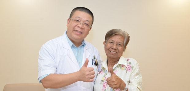มะเร็งลำไส้ใหญ่,การรักษามะเร็งลำไส้ใหญ่,เทคนิคเฉพาะจุด, เทคนิคคลื่นไมโครเวฟ,เทคนิคมีดโฟตอน,รพ.มะเร็งสมัยใหม่กว่างโจวแสตมฟอร์ด